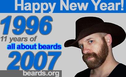 happy bearded new year!