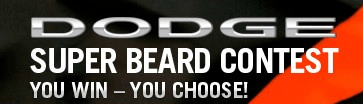 Dodge Super Beard Contest