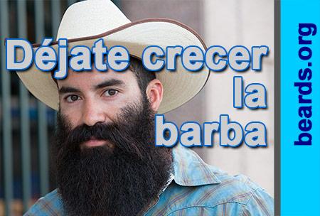 ¡Déjate crecer la barba!